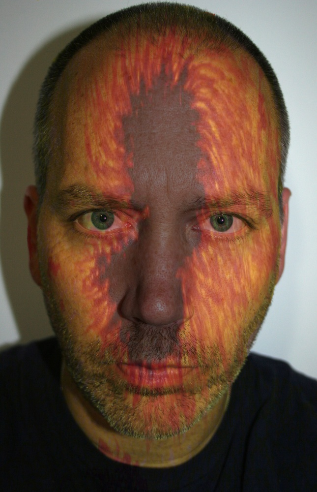 Self Portrait with Sun Spots, April 19