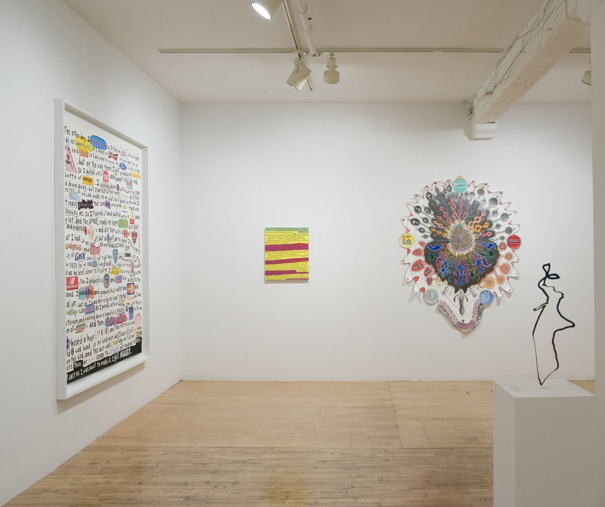 """""""The Machine and the Ghost"""", Pierogi Gallery"""