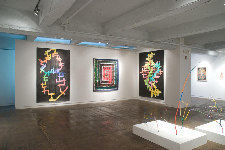 C'OD(e)R, solo exhibition - Fleisher Ollman Gallery